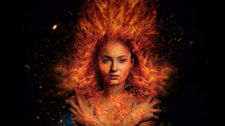 Jean Grey/Dark Phoenix (Sophie Turner) as X-Men: Dark Phoenix