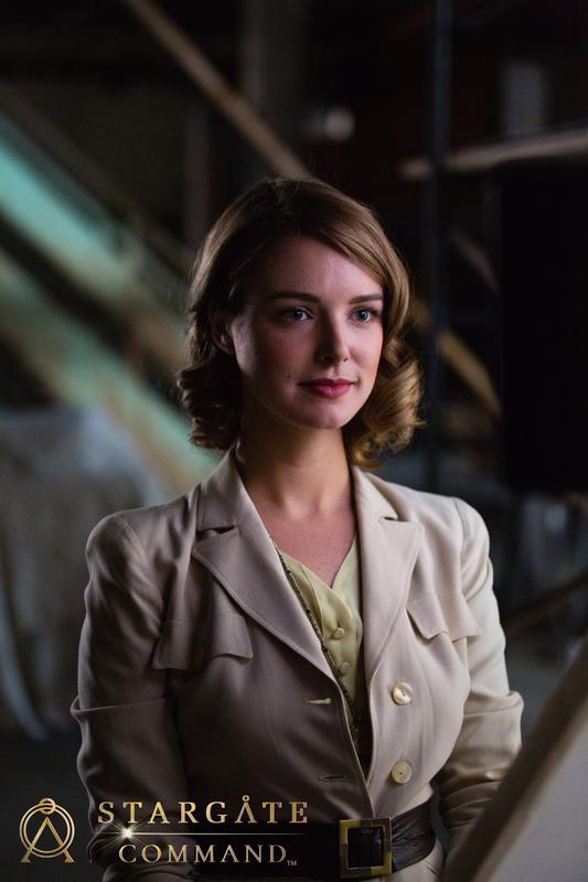 Catherine Langford Ellie Gall Stargate Origins