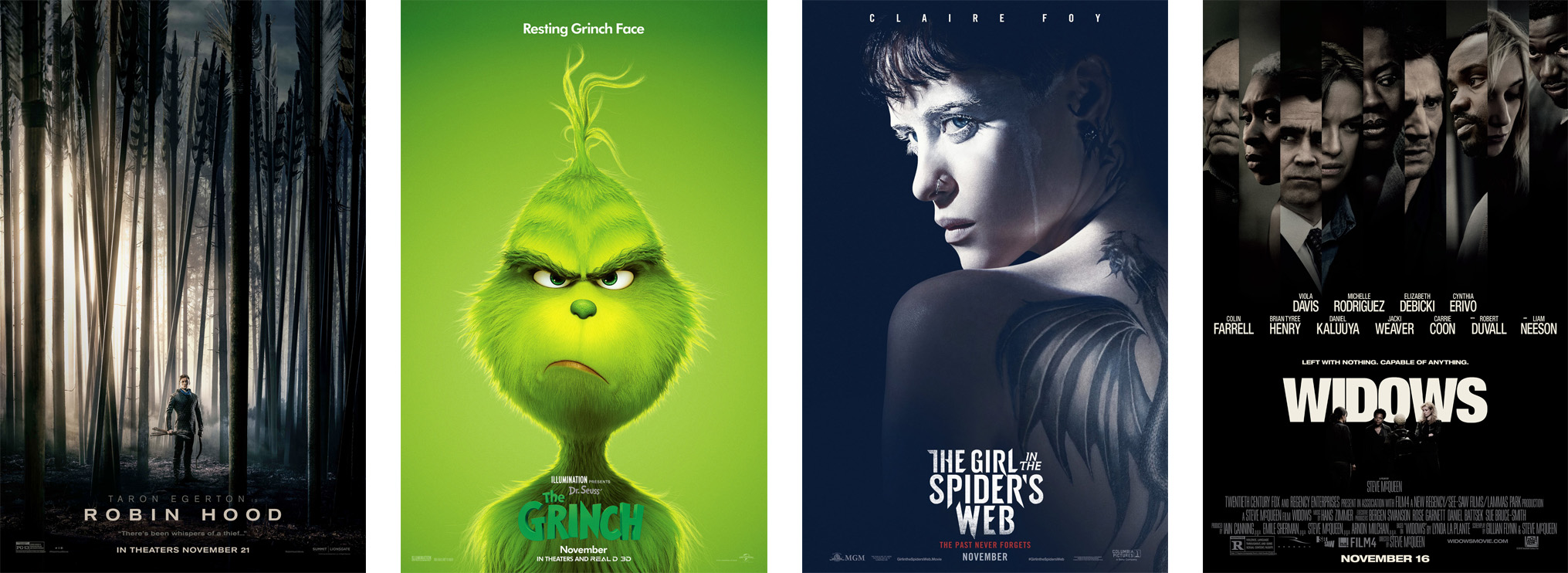 November Movie Releases | The Nerd Daily