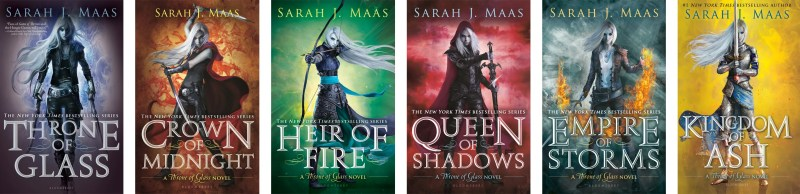 Image result for throne of glass series