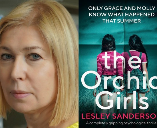 Lesley Sanderson The Orchid Girls