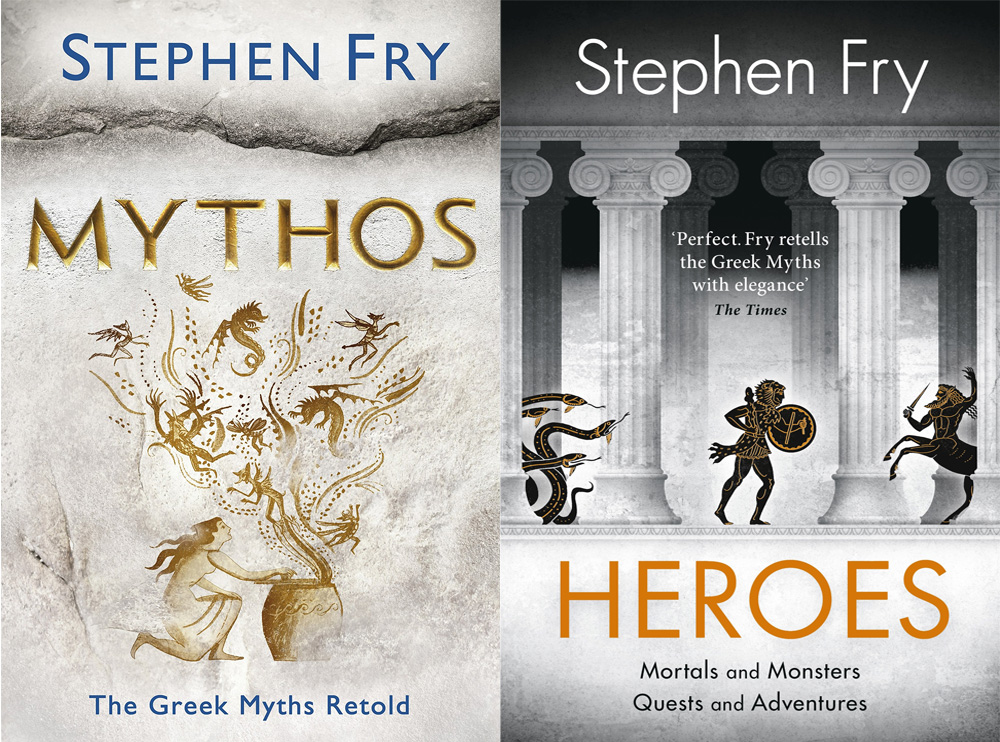 Review: Stephen Fry's 'Mythos' and 'Heroes' | The Nerd Daily