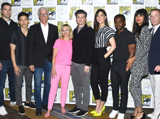 The Good Place Comic Con 2019
