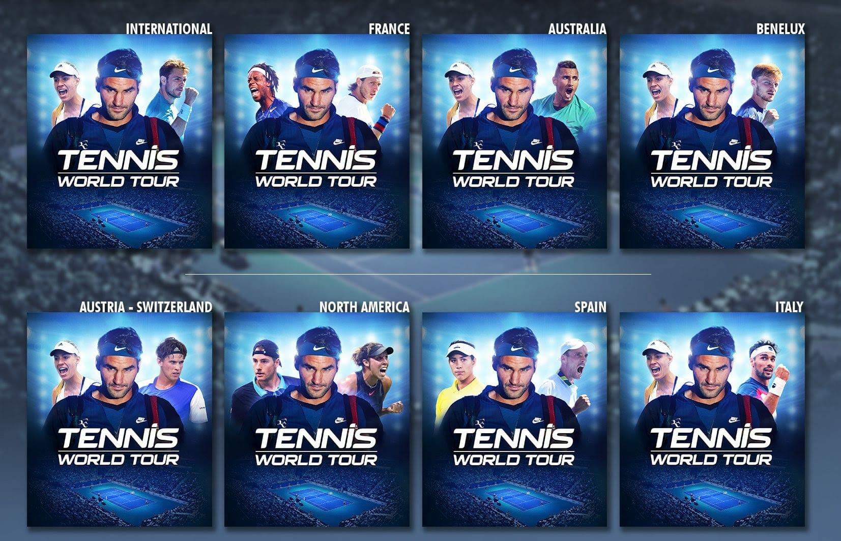 Tennis World Tour Boxart