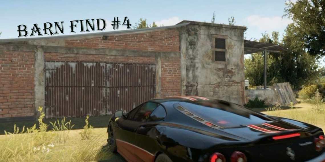 how to get barn cars forza horizon
