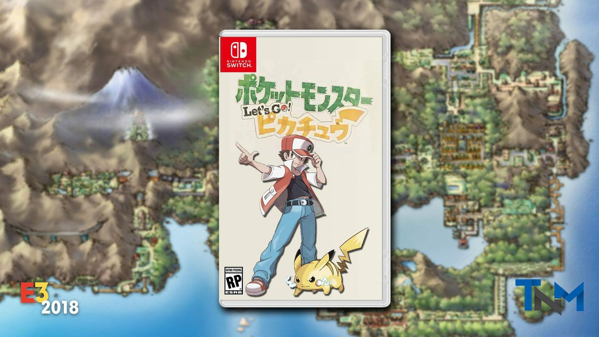 Let's Go Pikachu & Eevee E3 2018 Gameplay Trailer