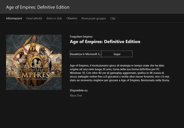 Edição Definitiva do Age of Empires