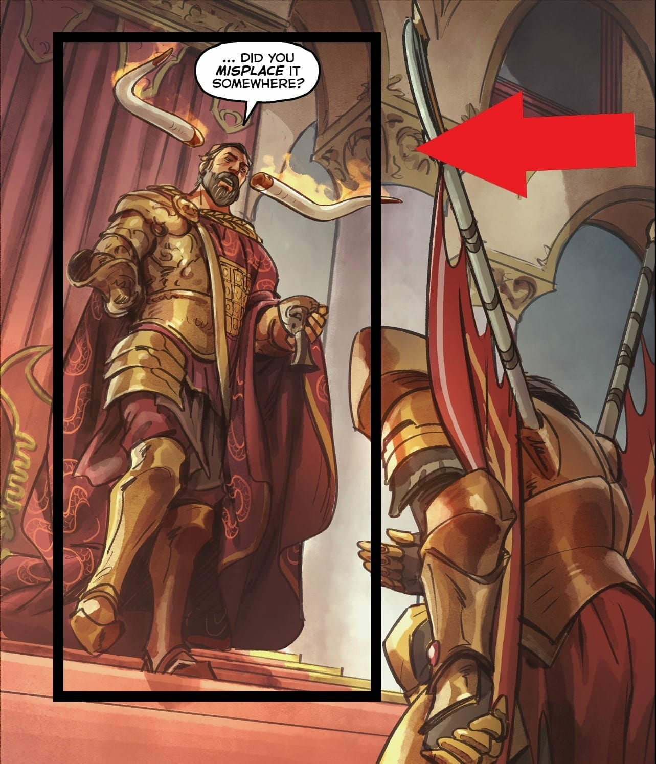Valve might just Revealed the Dota 2 hero Mars in the new Comic