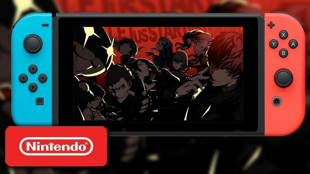 RUMOR Persona 5 On Nintendo Switch Coming 2019 Announcement On Day 1 DLC Of Super Smash Bros