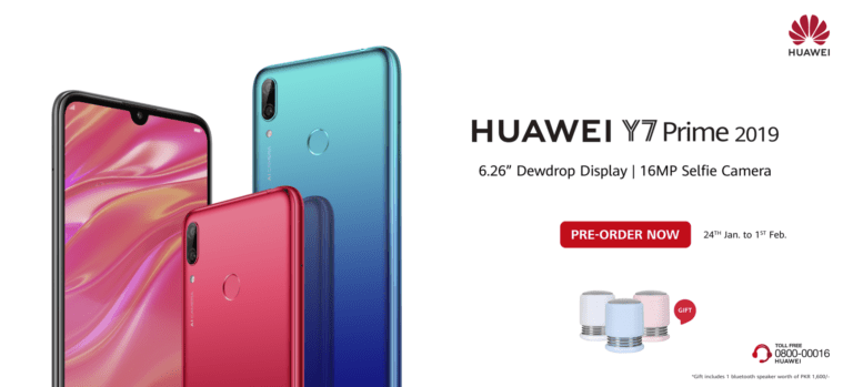 Huawei Y7 2019 Specs And Price Announced Face Unlock 4000mah