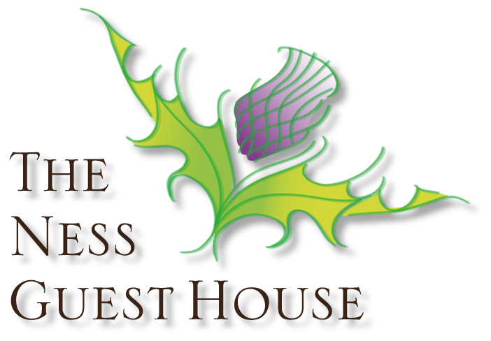 The Ness Guest House Thistle Logo, B&B in Inverness, Scottish Highlands