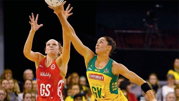 Netball Sharni Layton coaching defence mongrel