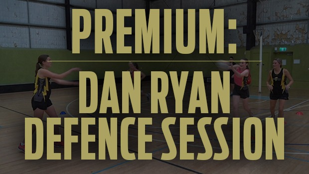 Dan Ryan defence session specialist netball coaching