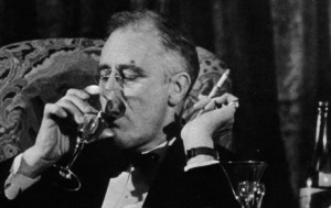 FDR TOASTS THE POOR
