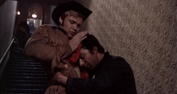 Joe Buck, John Hopkins oral sex in stairwell