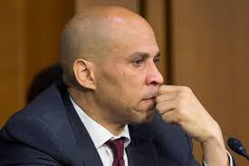 BOOKER WORRIED ABOUT CAMPAIGN FINANCES.