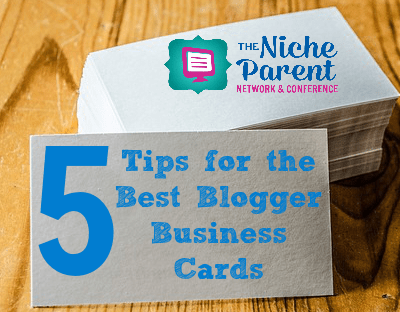 5 Tips for the Best Blogger Business Cards