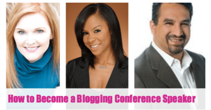 Featured Blogging Conference Speaker