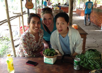 Eating Snake and trying local liquer - Mekong Delta, Vietnam