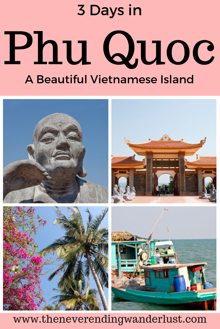 Pinterest Pins for Phu Quoc Island, Vietnam