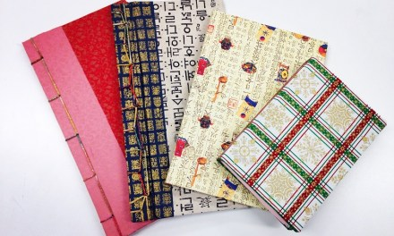 Korean Art Class #2: Bookbinding!