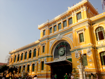 Old Post Office, Saigon, Vietnam