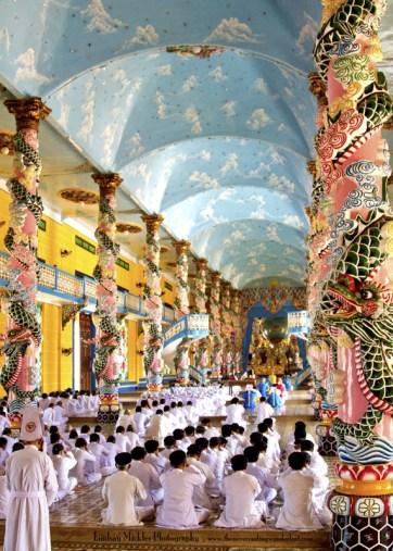 Cao Dai Temple, Vietnam