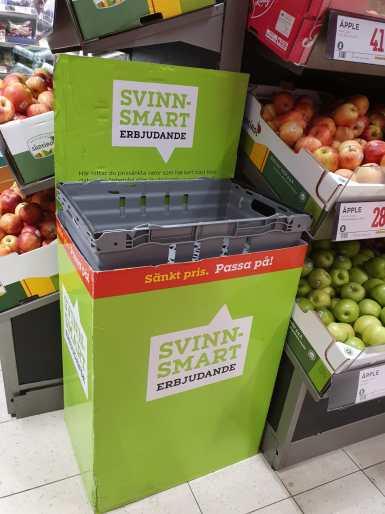 Rescue box in a supermarket