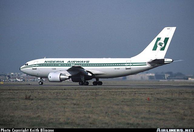 Nigeria Airways Plane