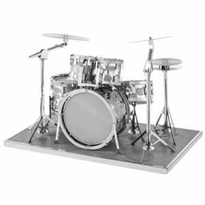 buy 3d metal model drum set