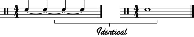 Learn to Read Drum Music - Part 7 - Tied Notes - The New Drummer