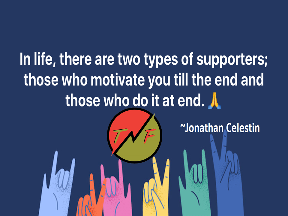 Quote About Support in Life