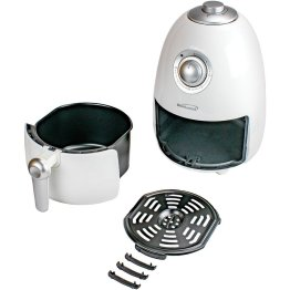 2-Quart Small Electric Air Fryer with Timer and Temperature Control
