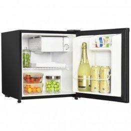 1.7 Cubic-ft Manual Defrost Refrigerator (Black)