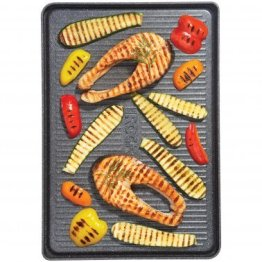 """THE ROCK™ by Starfrit® 17.75"""" Reversible Grill/Griddle Pan"""