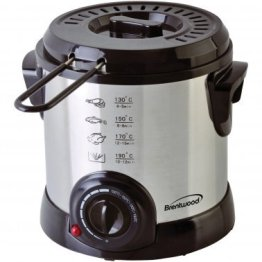1-Liter Stainless Steel Electric Deep Fryer