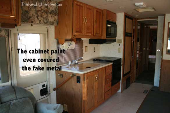 nuvo cabinet paint before and after how to paint rv cabinets without sanding or primer 158
