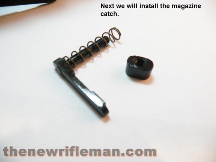 Magazine catch assembly
