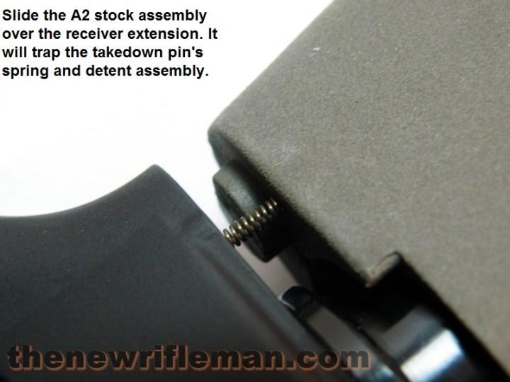 A2 stock assembly