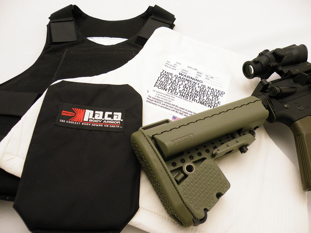 Body Armor and The Rifle (2)