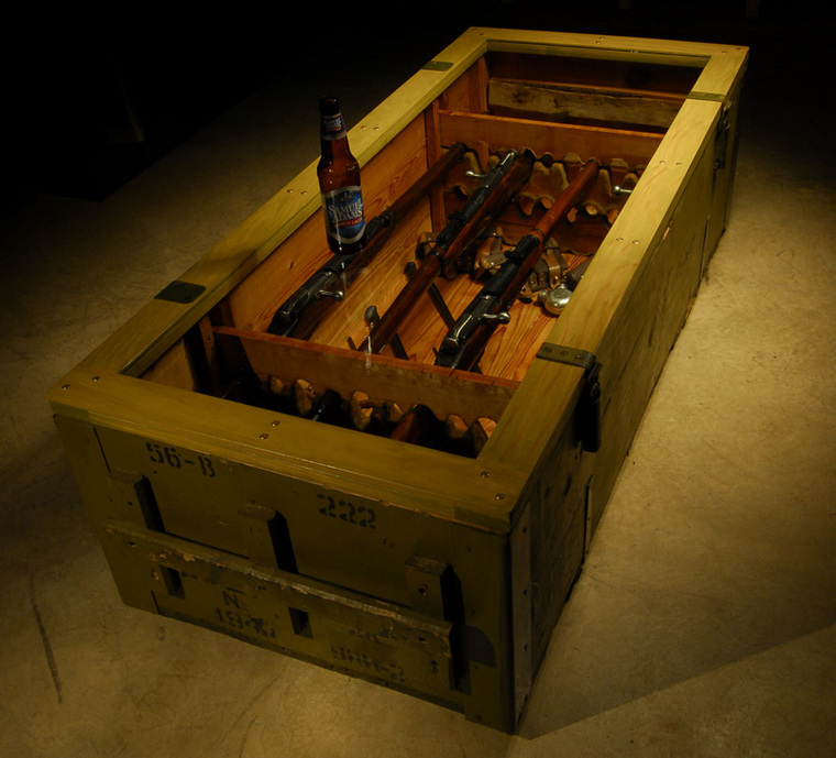 Mosin Nagant Coffee Table
