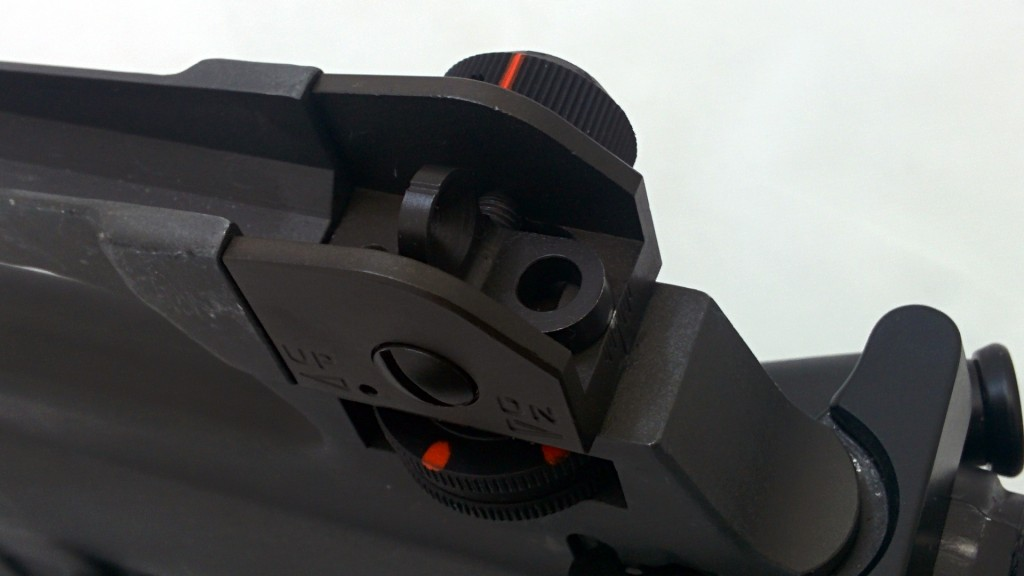 iron sights marked