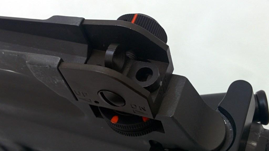 iron sights marked