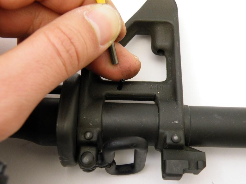 AR15 install gas tube (6)