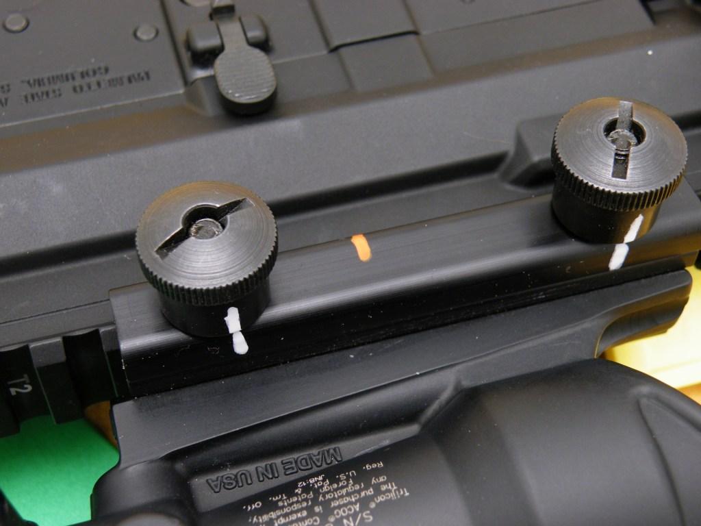 Rifle Ready marks