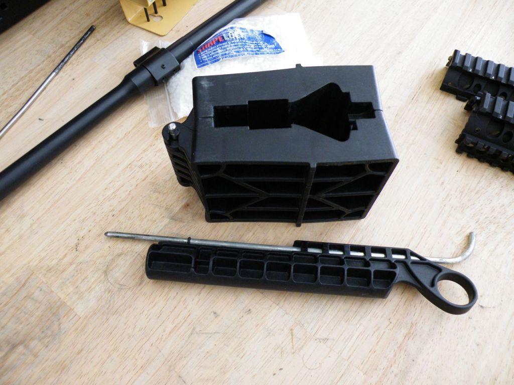 AR15 receiver clamp
