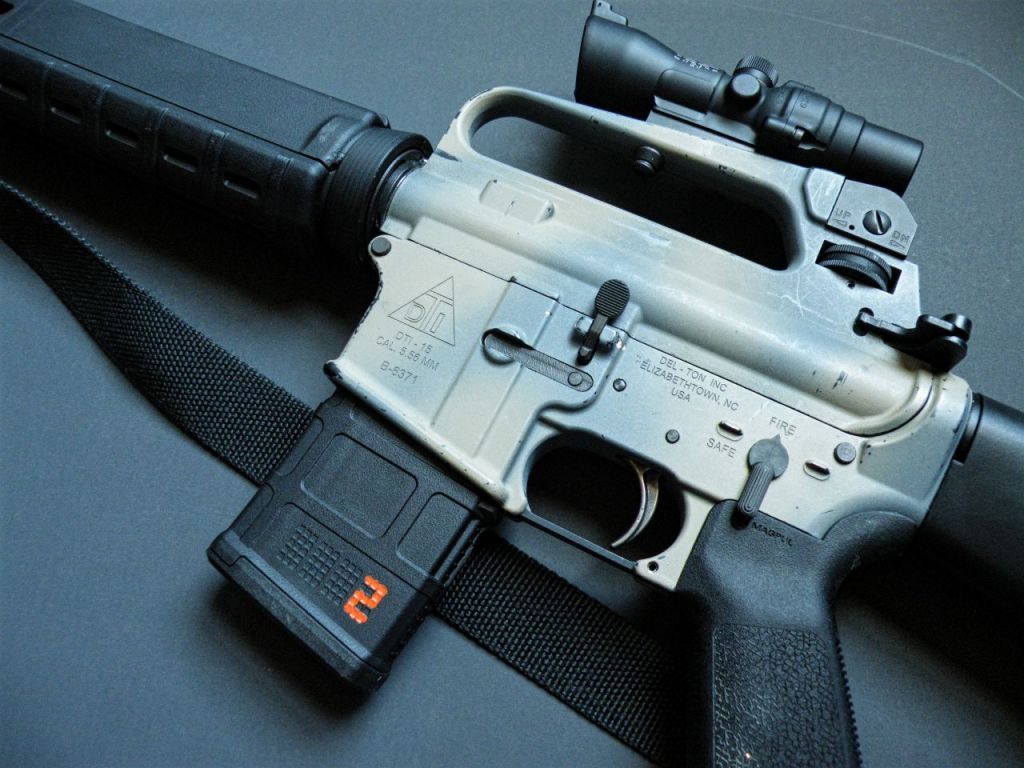 trijicon TA47R A2 rifle