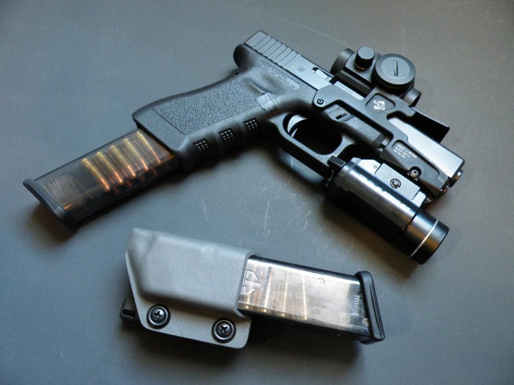 ETS group glock 17 vigiliance tactical holster alg defense
