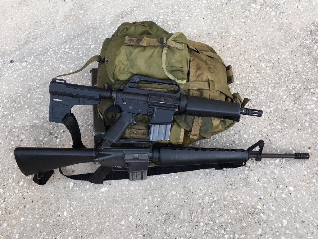 ARk and M16A1