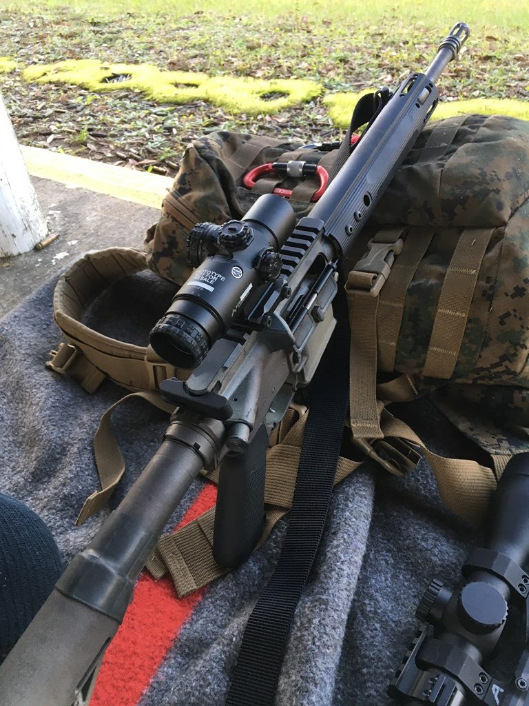 Hitting a 12-inch plate at 300 yards with Wolf Gold? no problem